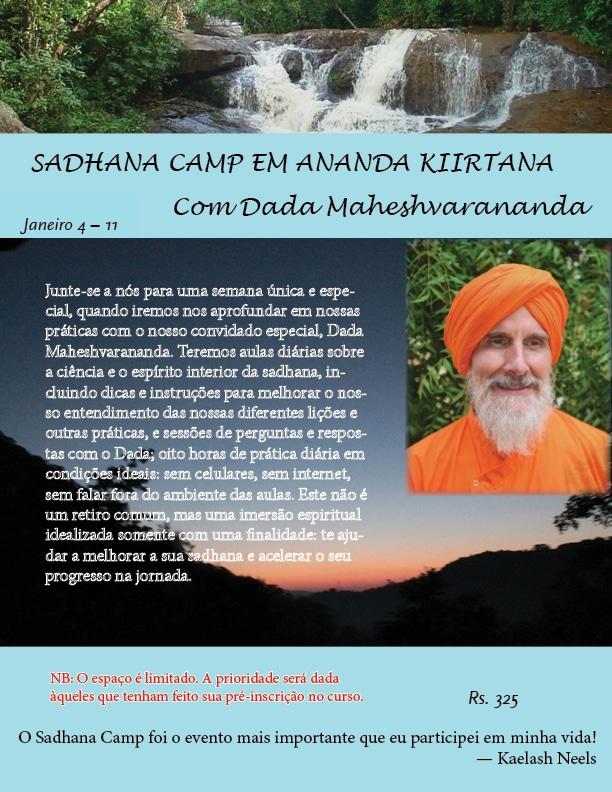 Sadhana camp Mahesh