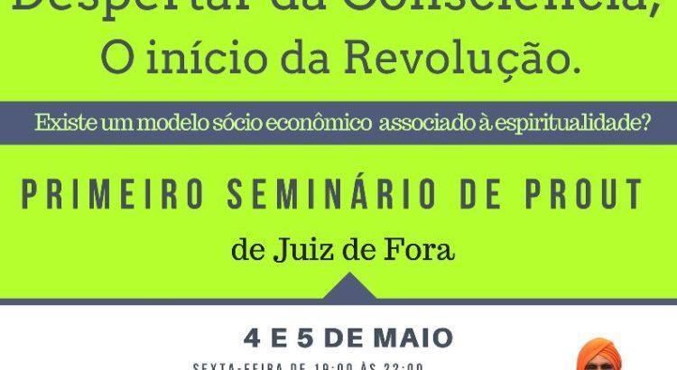 seminario prout em Juiz de Fora 2018